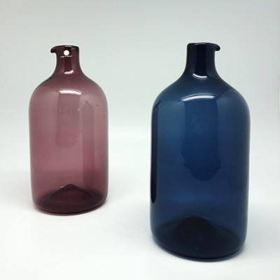2 x Bottles vase by Timo Sarpaneva for littala, 1950s