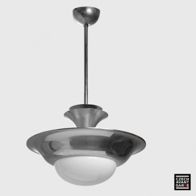 Hanging lamp from the thirties by unknown designer for unknown producer