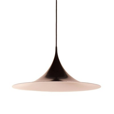 Semi Pendant hanging lamp from the sixties by Claus Bonderup & Torsten Thorup for Fog & Mørup
