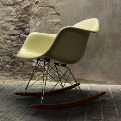 RAR rocking chair by Charles & Ray Eames for Fehlbaum for Herman Miller, 1950s