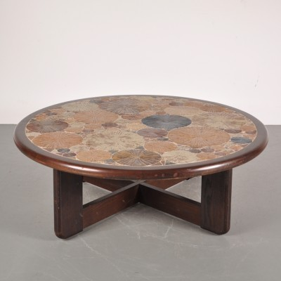 Coffee table by Tue Poulsen for Haslev Møbelsnedkeri, 1960s
