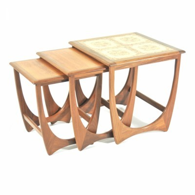 4 Astro Series nesting tables from the sixties by Victor Wilkins for G plan
