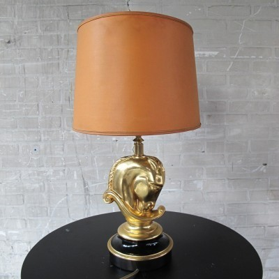 Desk lamp by Jacques Charles for Maison Charles, 1960s