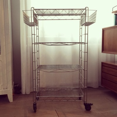 Serving Trolley by Unknown Designer for Casamania by Frezza
