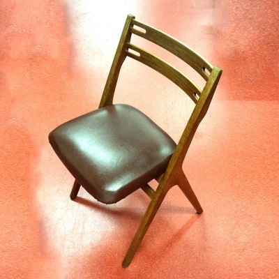 2 dinner chairs from the fifties by Helge Sibast & Arne Vodder for Sibast
