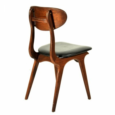 Dining chair by Louis van Teeffelen for Wébé, 1950s