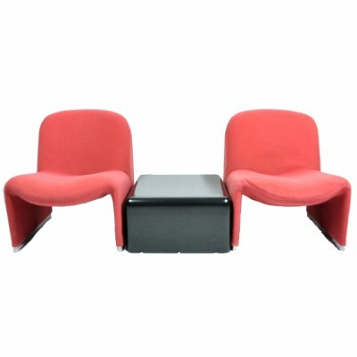 Alky seating group from the eighties by Giancarlo Piretti for Castelli