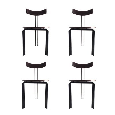 Set of 4 Harvink dining chairs, 1970s