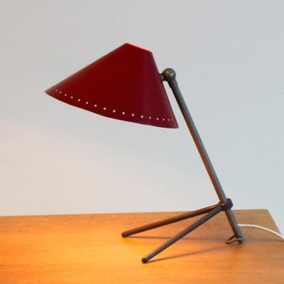 Pinocchio desk lamp from the fifties by H. Busquet for Hala Zeist