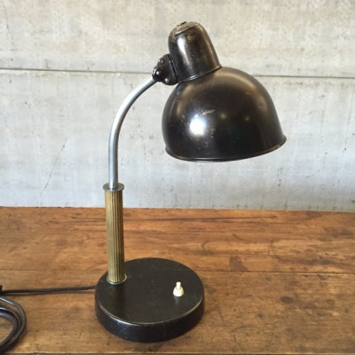 Desk lamp by Christian Dell for Kaiser Leuchten, 1920s