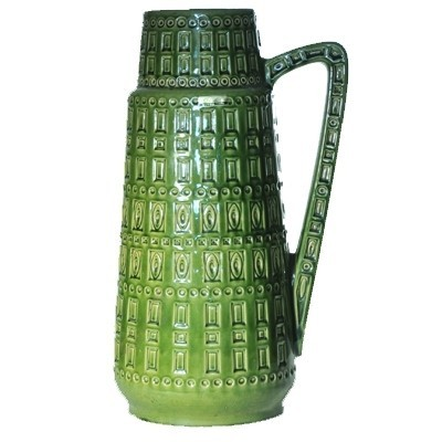 Inca vase from the sixties by unknown designer for Scheurich Germany