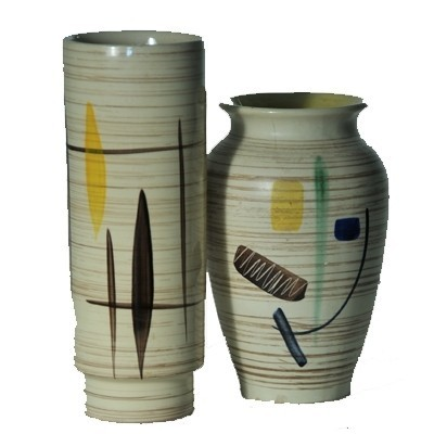 Pair of West Germany vases, 1950s