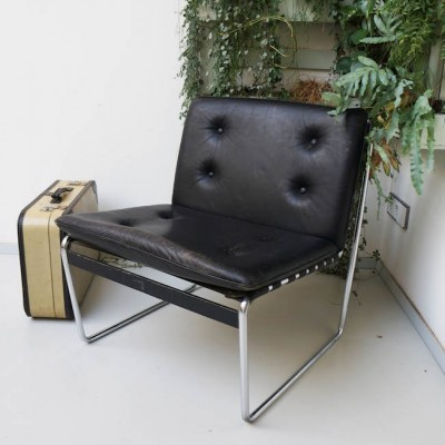 Lounge chair by unknown designer for DeWe Deutsche Werkstätten