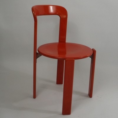 3 x Rey dining chair by Bruno Rey for Dietiker Swiss, 1970s