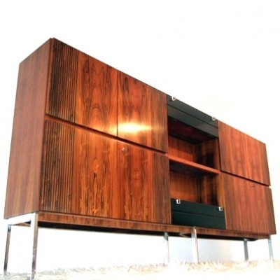 Highboard wall unit from the sixties by unknown designer for unknown producer
