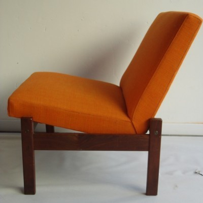 3 lounge chairs from the sixties by Yngve Ekström for Pastoe