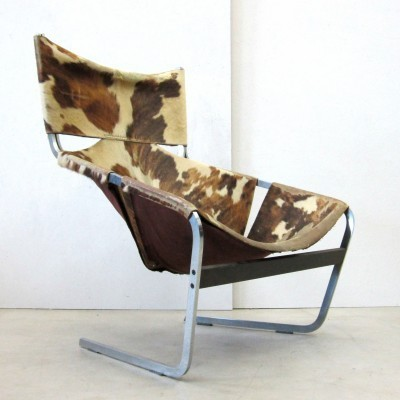Model 444 lounge chair from the sixties by Pierre Paulin for Artifort