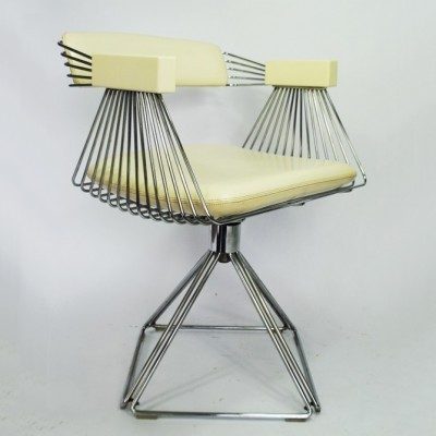 2 x arm chair by Rudi Verelst for Novalux Belgium, 1970s