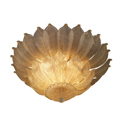 Barovier & Toso ceiling lamp, 1970s