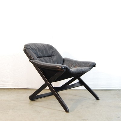 Lounge chair from the seventies by unknown designer for Göte Möbler