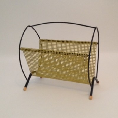 Magazine holder by Tjerk Reijenga for Pilastro, 1940s
