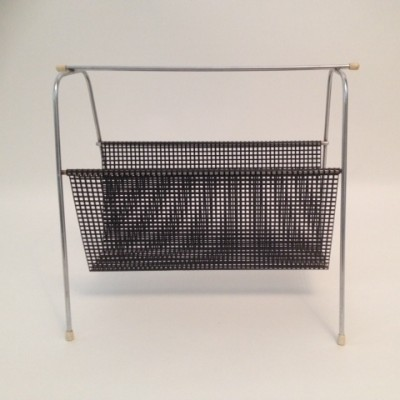 Magazine holder from the fifties by unknown designer for Tomado Holland