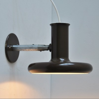 Optima wall lamp by Hans Due for Fog & Mørup, 1970s