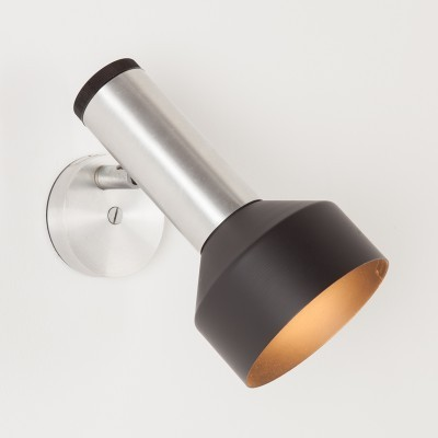 2 wall lamps from the seventies by unknown designer for Philips