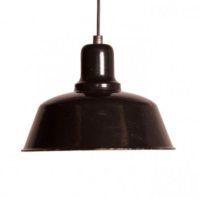Factory hanging lamp by Industria Rotterdam, 1930s