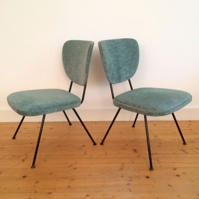 Set of 5 vintage dinner chairs, 1950s
