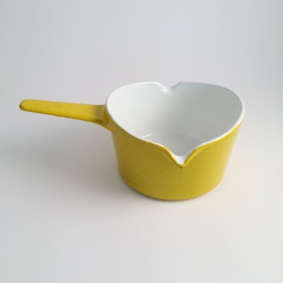 Sauce warmer pot from the fifties by Michael Lax for Copco