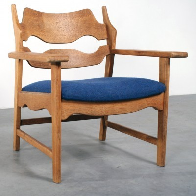 Razor Blade Lounge Chair by Henning Kjærnulf for Unknown Manufacturer