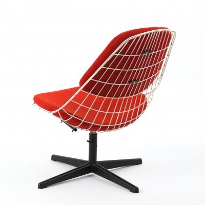 Draadstoel lounge chair by Cees Braakman for Pastoe, 1950s