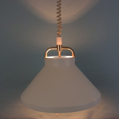 Tarok hanging lamp from the seventies by Jo Hammerborg for Fog & Mørup