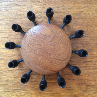 Candle Holder from the sixties by unknown designer for Digsmed
