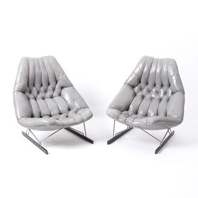 Set of 2 lounge chairs from the sixties by Geoffrey Harcourt for Artifort