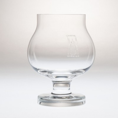 Hotel Praha Cognac Glass by Adolf Matura for Moser, 1970s