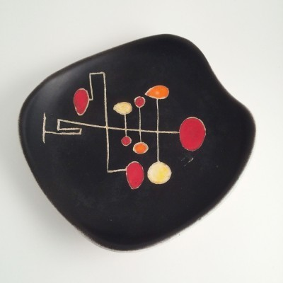 Dish from the sixties by G. I. Tallon for Hélène Ugo Vallauris