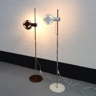 2 x Piccolo floor lamp by Lyfa, 1970s