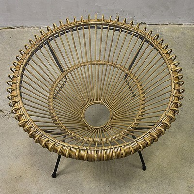 Coffee table by Franco Albini for Vittorio Bonacina, 1950s