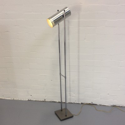 Trombone floor lamp from the seventies by Jo Hammerborg for Fog & Mørup