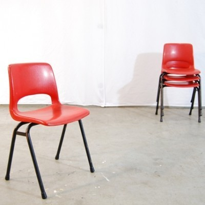 Chair children furniture from the seventies by Jack Vogels for Marko Holland