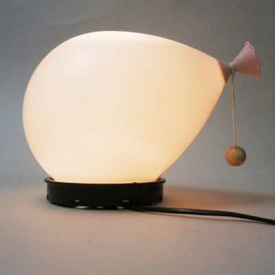 Small Balloon wall lamp by Yves Christin for Bilumen, 1970s