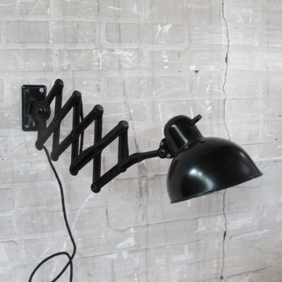 Wall lamp by Christian Dell for Kaiser Leuchten, 1930s