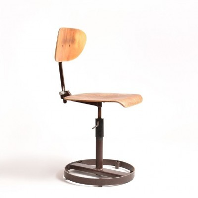 3 x Chirana office chair, 1970s