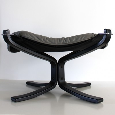Falcon Ottoman stool by Sigurd Ressell for Vatne Møbler, 1970s