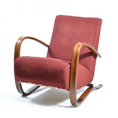 H-269 lounge chair from the fifties by Jindřich Halabala for UP Závody