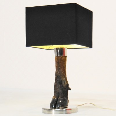 Deer Hoof desk lamp from the sixties by unknown designer for unknown producer