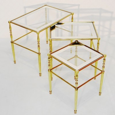 Nesting table from the seventies by unknown designer for unknown producer