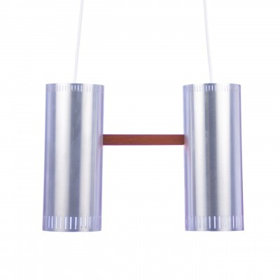 Cylinder II hanging lamp from the sixties by Jo Hammerborg for Fog & Mørup
